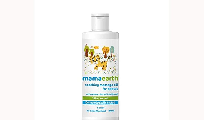 Mamaearth Soothing Baby Massage Oil