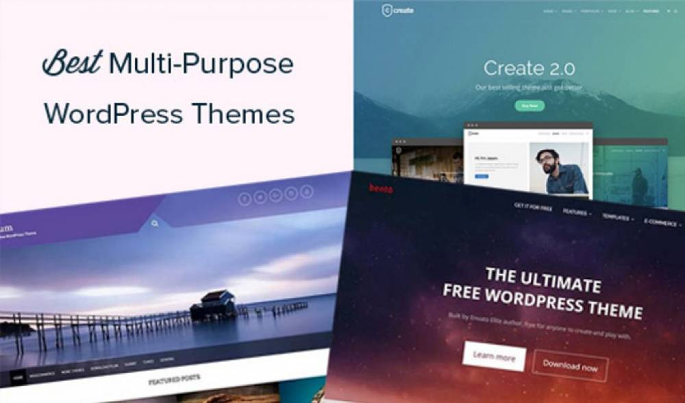 Best Selling Multi Purpose WordPress Themes